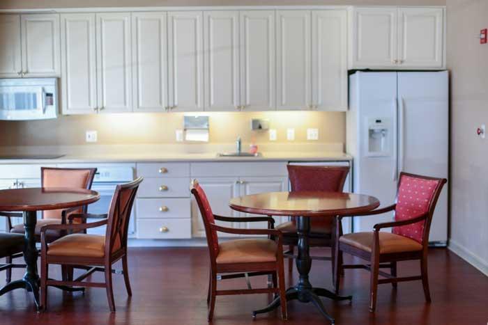 Grand Oaks floor plans one bedroom deluxe layout 1