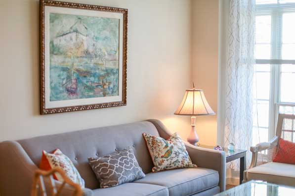 Grand Oaks floor plans two bedroom layout 1