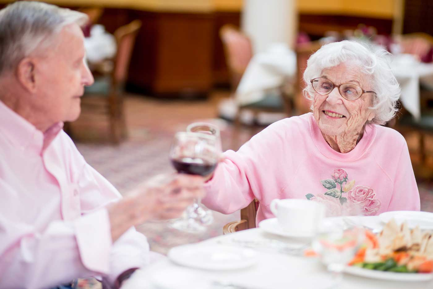 Grand Oaks Respite care dining