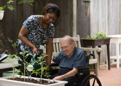 Grand Oaks is the preferred retirement community for seniors who value their independence, yet need personal assistance with daily activities.