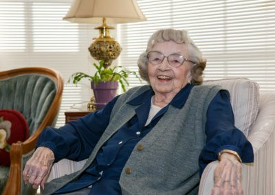 Each and every Grand Oaks resident enjoys the comfort and amenities of a gracious and hospitable home.