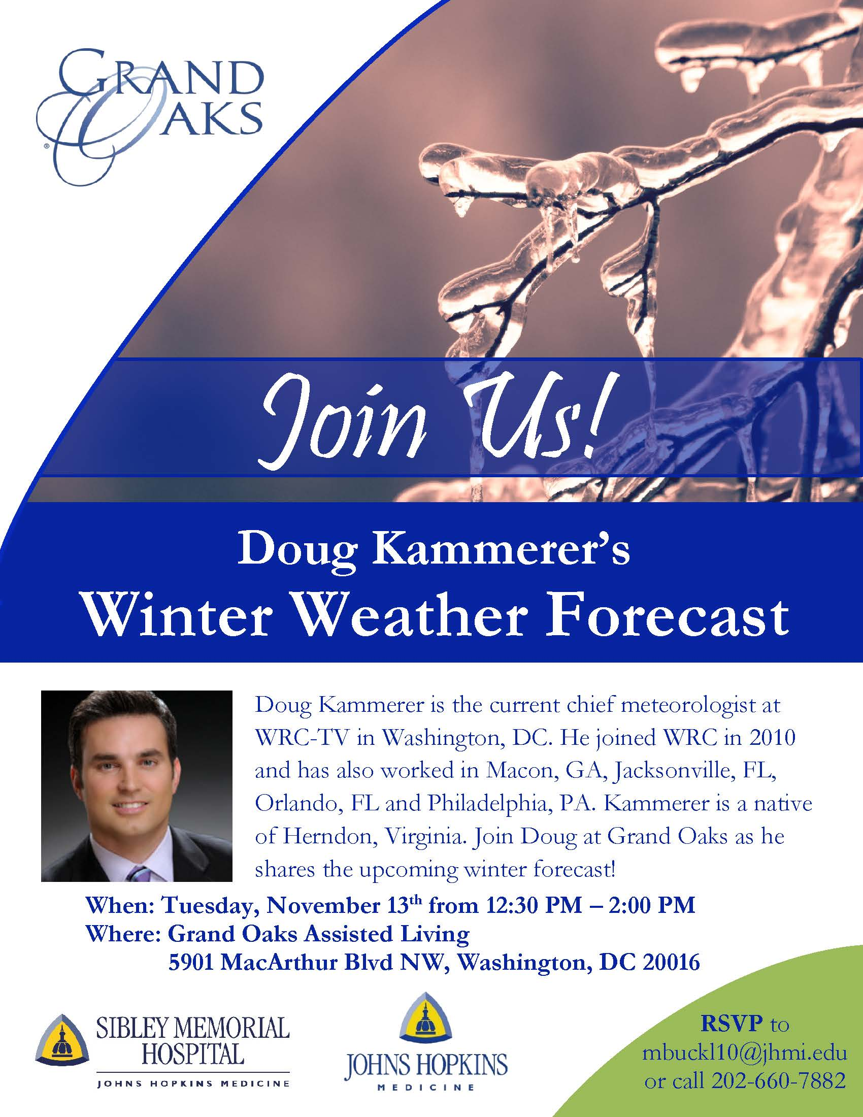 Winter Weather Forecast Flyer