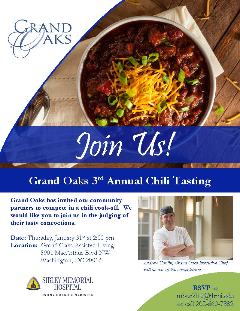 Jan 2019 Chili Cook-Off Flyer