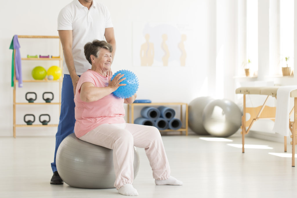 Senior living physical therapy