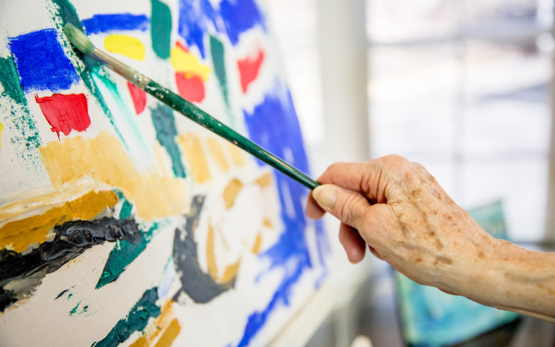 Find Your 'Spark of Creativity' This National Assisted Living Week
