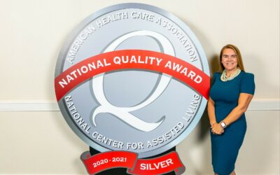 Grand Oaks Assisted Living Residence Earns 2020 Silver National Quality Award